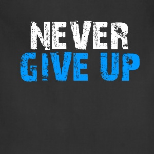 Never Give Up Tank Top - Adjustable Apron