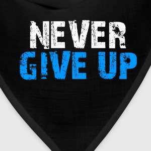 Never Give Up Tank Top - Bandana