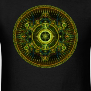 Metatron's Magick Wheel ~ Sacred Geometry - Men's T-Shirt