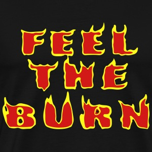 Feel The Burn Tank Tops - Men's Premium T-Shirt