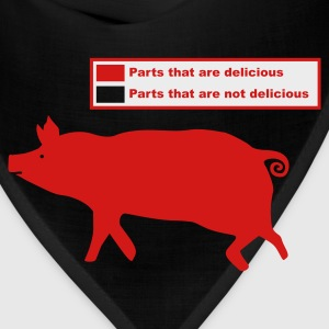 Pig Butchering Guide - Men's Tank - Bandana