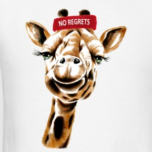 Giraffe No Regrets - Men's T-Shirt