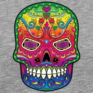 All Saints' Day - Day of the dead - Sugar skull Tank Tops - Men's Premium T-Shirt