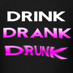 drink drank drunk purple Tank Tops - Men's T-Shirt