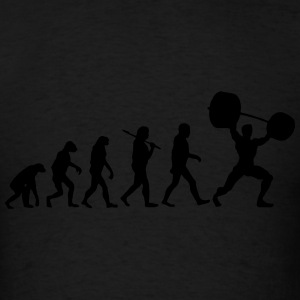 Evolution  - Weightlifter Tank Tops - Men's T-Shirt