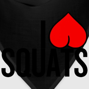 I Love Squats - Bandana
