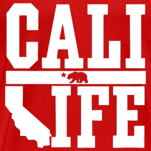 Cali Life Shirt Design Tank Tops - Men's Premium T-Shirt
