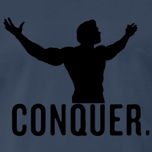 Conquer Arnie Vector Design - Men's Premium T-Shirt