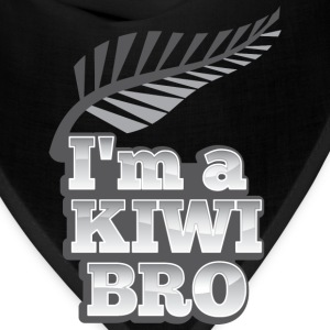I'm a kiwi BRO in silver NEW ZEALAND Men - Bandana