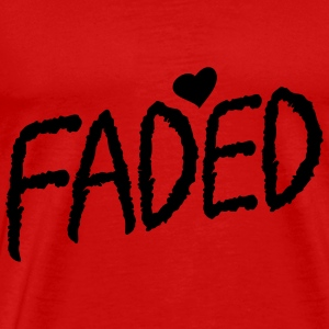 Faded XO Tank Tops - Men's Premium T-Shirt