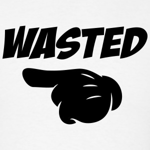 wasted - Men's T-Shirt