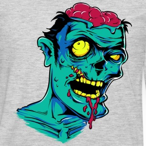 Zombie - Undead - Geek - Horror - Scifi - Dead Tank Tops - Men's Premium Long Sleeve T-Shirt