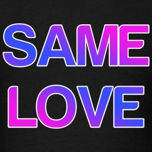 Same Love LGBT Design Tank Tops - Men's T-Shirt