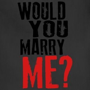Would you marry me - Adjustable Apron