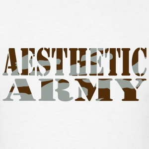 Aesthetic Army Tank Tops - Men's T-Shirt