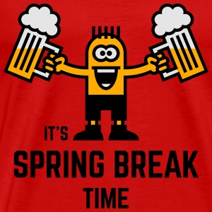 It's Spring Break Time (Beer / 3C) Tank Tops - Men's Premium T-Shirt