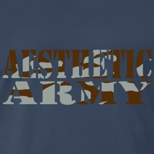 Aesthetic Army Tank Tops - Men's Premium T-Shirt