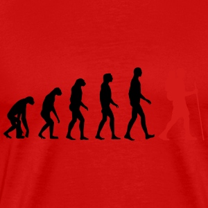 Hiking Evolution Tank Tops - Men's Premium T-Shirt