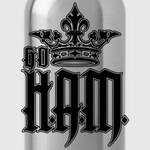 Go HAM or Go H.A.M. Tank Tops - Water Bottle