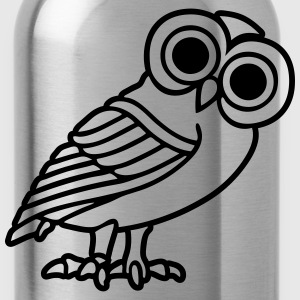 greek owl T-Shirts - Water Bottle