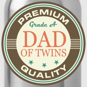 Dad Of Twins (Vintage) T-Shirts - Water Bottle