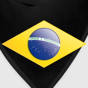 Brazilian flag rectangle  - Bandana