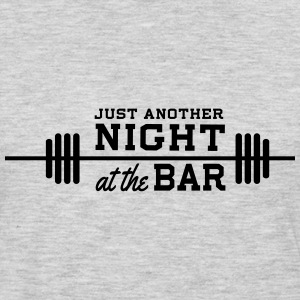 Just another night at the bar Tank Tops - Men's Premium Long Sleeve T-Shirt