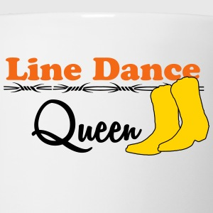 Line Dance Queen T-Shirts - Coffee/Tea Mug