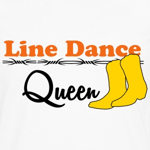 Line Dance Queen T-Shirts - Men's Premium Long Sleeve T-Shirt