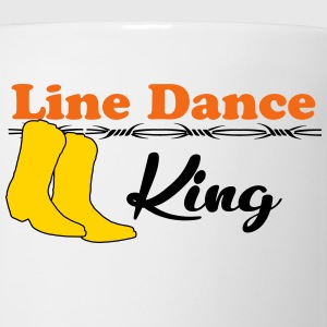 Line Dance King T-Shirts - Coffee/Tea Mug