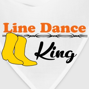 Line Dance King T-Shirts - Bandana