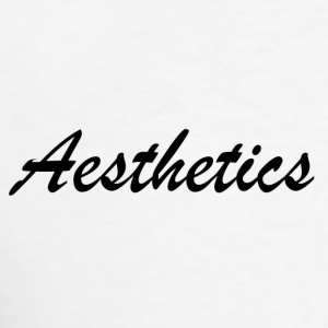 Aesthetics Tank Tops - Men's T-Shirt