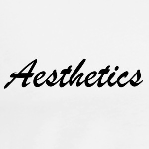 Aesthetics Tank Tops - Men's Premium T-Shirt
