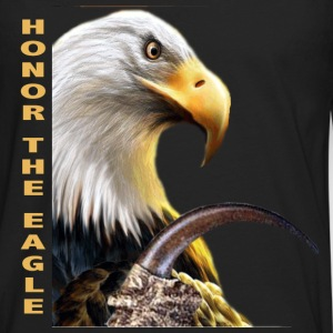HONOR THE EAGLE CLAW - Men's Premium Long Sleeve T-Shirt
