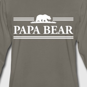 Papa Bear T-Shirts - Men's Premium Long Sleeve T-Shirt