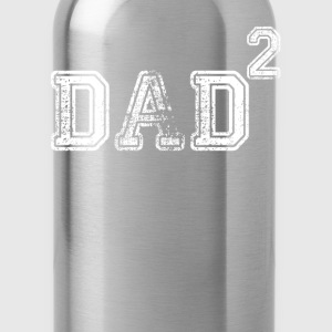 Dad Of 2 T-Shirts - Water Bottle