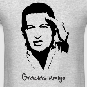 Gracias Hugo Chavez Tank Tops - Men's T-Shirt