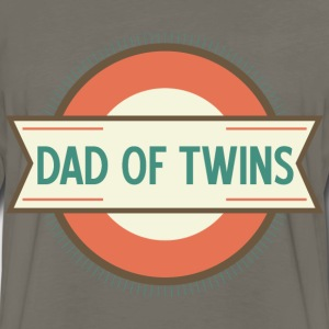 Dad Of Twins gift T-Shirts - Men's Premium Long Sleeve T-Shirt