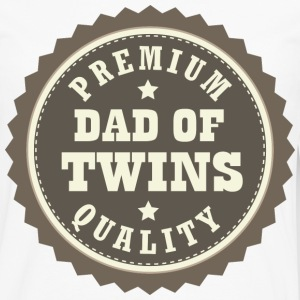 Dad Of Twins (Premium Quality) T-Shirts - Men's Premium Long Sleeve T-Shirt