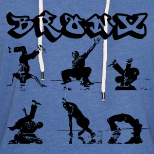 Breakdancing in Bronx T-Shirts - Unisex Lightweight Terry Hoodie