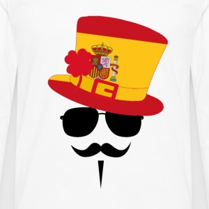 Spain - Men's Premium Long Sleeve T-Shirt