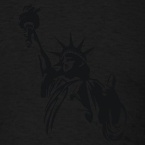 Black Statue of Liberty Sweatshirt - Men's T-Shirt
