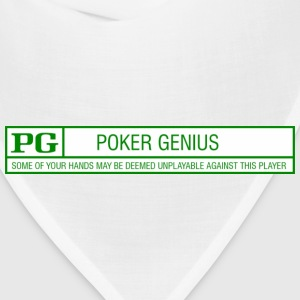 Rated PG - Poker Genius - Bandana