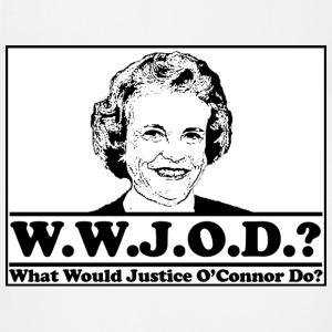 W.W.J.O.D. What would Justice O'Connor Do? T-Shirts - Adjustable Apron