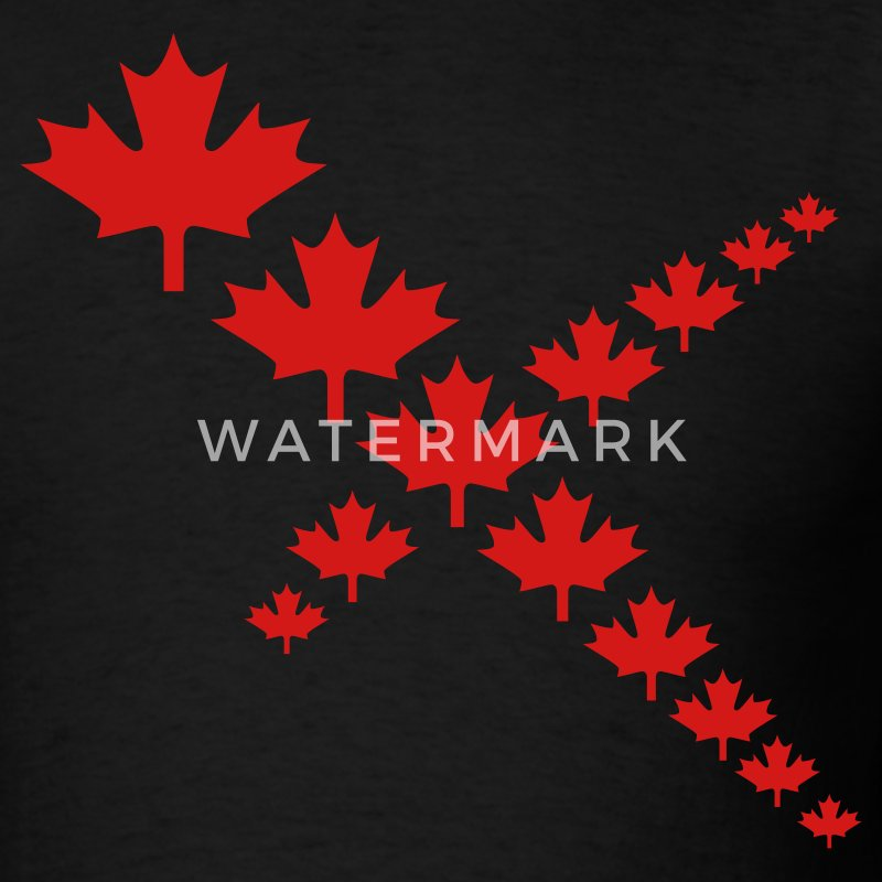 Maple Leaf Cross - Men's T-Shirt