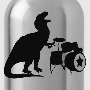 Sky/navy T-Rex Drums Men - Water Bottle