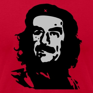Red Viva la Saddam! Sweatshirt - Men's T-Shirt by American Apparel