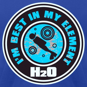 H2O_DIVER - Men's T-Shirt by American Apparel