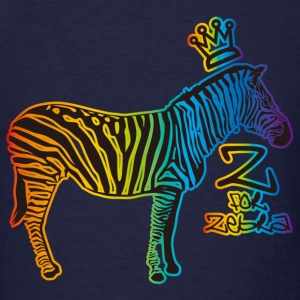 Z for Zebra - Men's T-Shirt