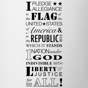 Pledge of Allegiance - Coffee/Tea Mug